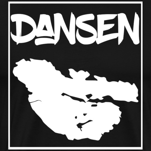 DansenKartaVit - Premium-T-shirt herr