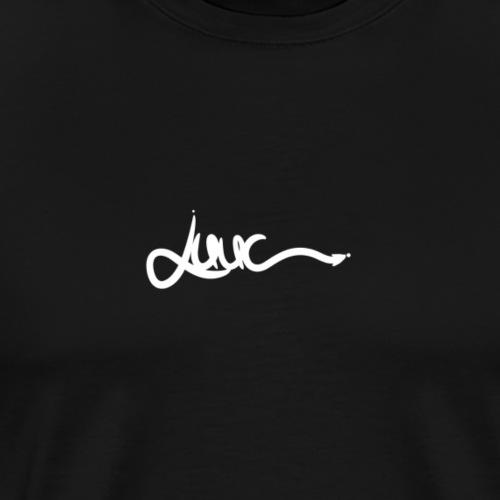 Luuc Signatur - weiß - Männer Premium T-Shirt
