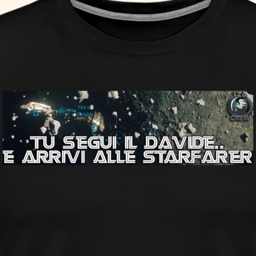 STARFARER - Maglietta Premium da uomo
