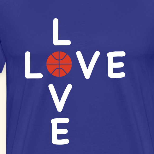 LOVE Cross basketball red 001