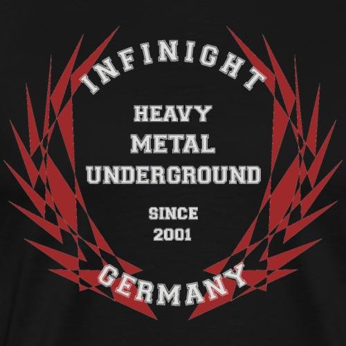 Infinight College clean red hell - Männer Premium T-Shirt