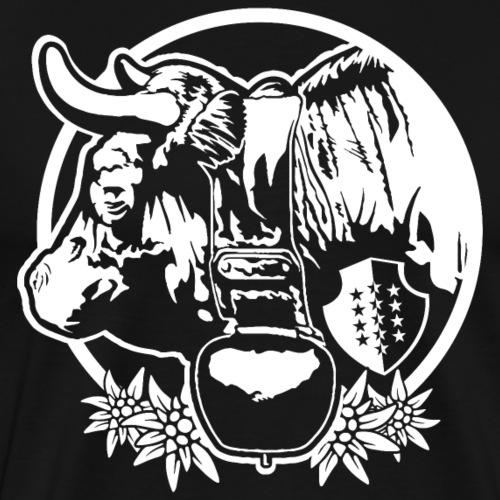 ERINGER / HÉRENS - Männer Premium T-Shirt