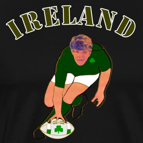 ireland_style_rugby_player - Men's Premium T-Shirt