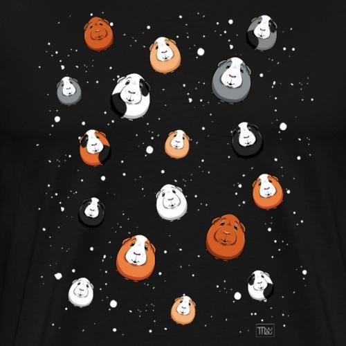 Avaruusmarset - Miesten premium t-paita