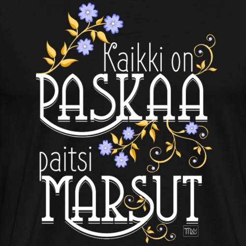 Paitsi Marsut II - Miesten premium t-paita