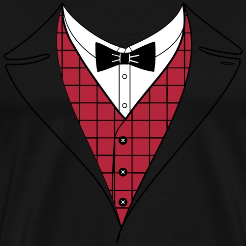Anzug - Männer Premium T-Shirt
