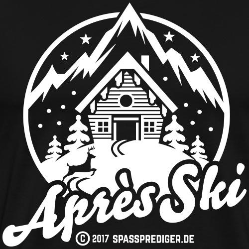 Après Ski T Shirt Design Skihütte - Geschenkidee - Männer Premium T-Shirt