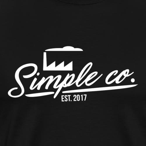 Simple Factory Co. - Premium-T-shirt herr