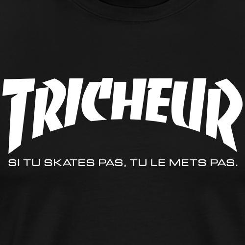skateboard trasher tricheur - T-shirt Premium Homme