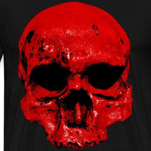 Blutiger Schädel - Männer Premium T-Shirt