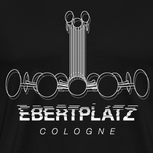 Ebertplatz - Männer Premium T-Shirt