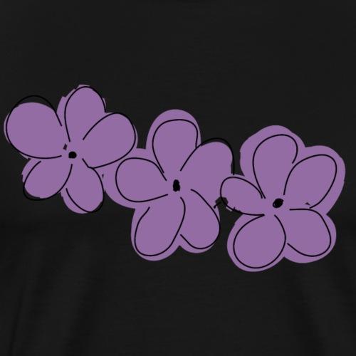 Hawaii Blumen - Männer Premium T-Shirt