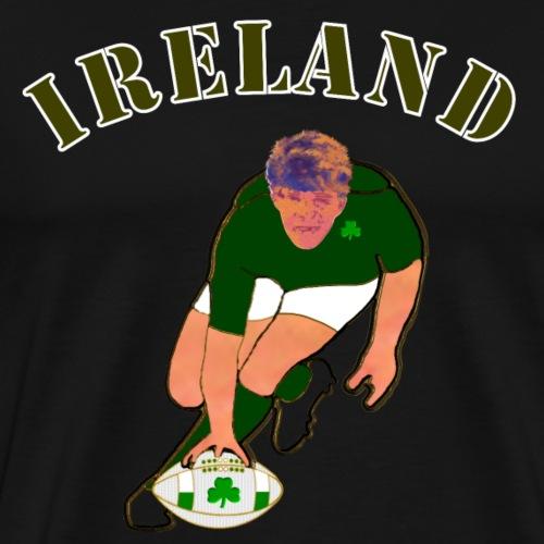 ireland_style_rugby_player - Men's Premium T-Shirt