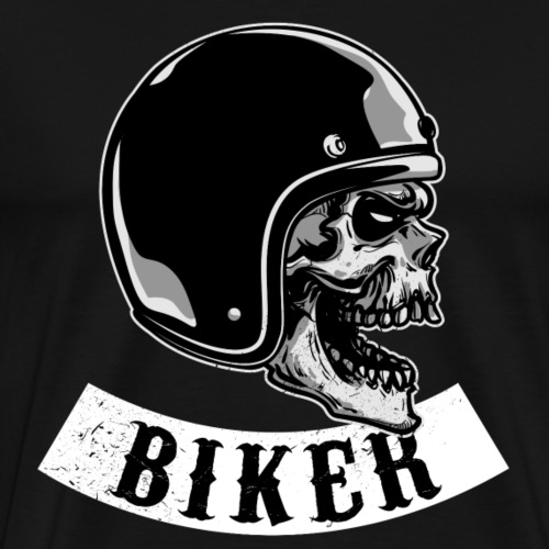 Biker 4 Life - Biker für immer - Männer Premium T-Shirt