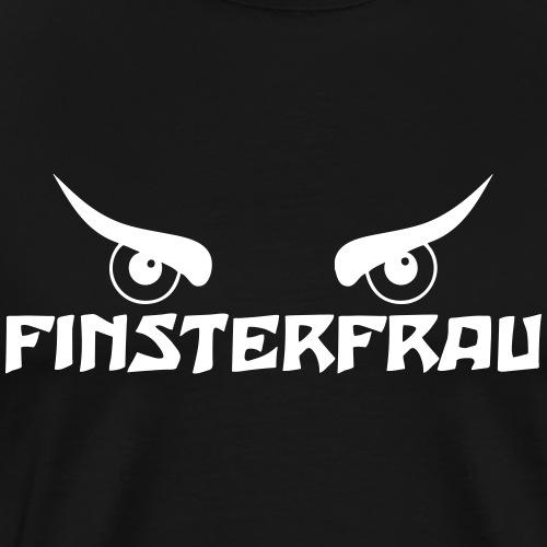 Finsterfrau - Männer Premium T-Shirt