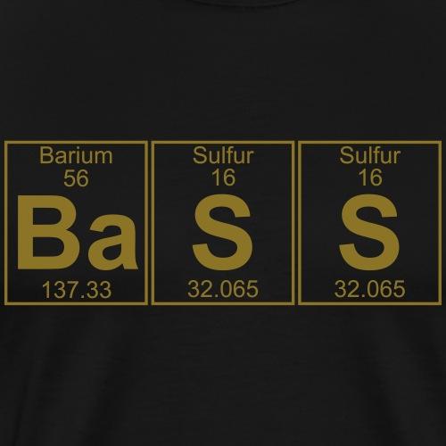 Ba-S-S (bass) - Full - Men's Premium T-Shirt