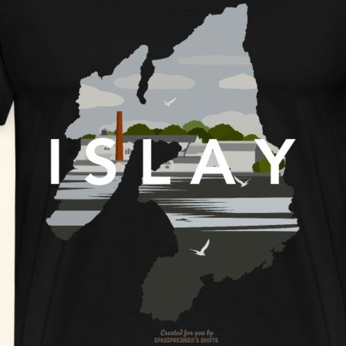 Whisky Insel Islay Destillerie - Männer Premium T-Shirt