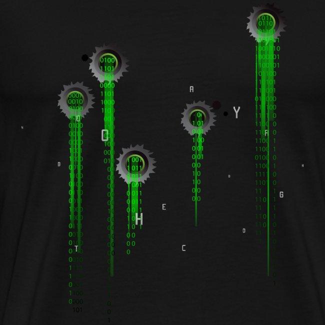 Matrix t-shirt   Web   Geek   Bullet wounds