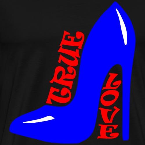 Cool true love schuhe - Men's Premium T-Shirt