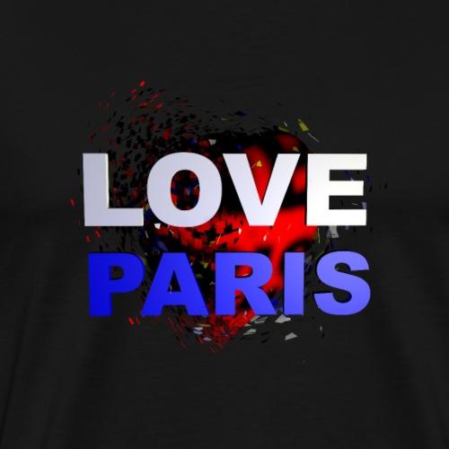 LOVE PARIS - T-shirt Premium Homme