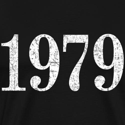 Jahr 1979 Geburtstag (Vintage Weiss) - Männer Premium T-Shirt
