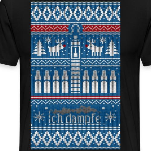 Weihnachts-Pulli - Männer Premium T-Shirt