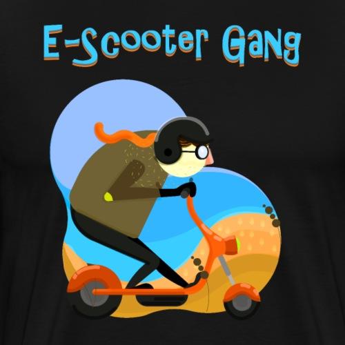 Die Escooter Gang - Männer Premium T-Shirt