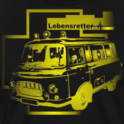 Barkas B1000 Krankenwagen - Männer Premium T-Shirt