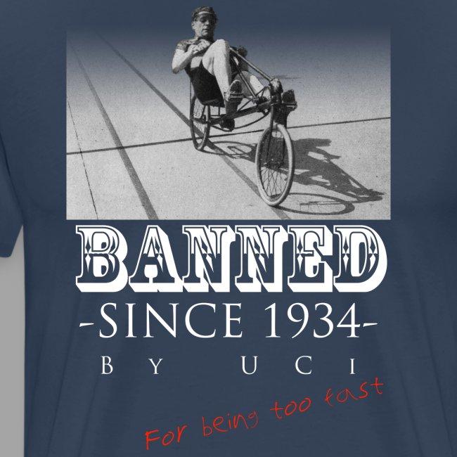 Recumbent Bike Banned since 1934