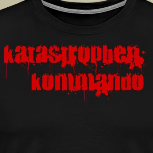KK Logo rot - Männer Premium T-Shirt