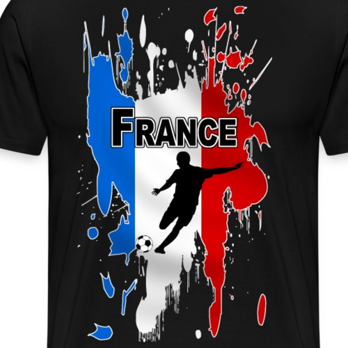 football france 17 - Men's Premium T-Shirt
