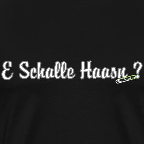 e schalle - Männer Premium T-Shirt