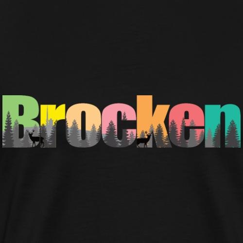 Brocken Landschaft - Männer Premium T-Shirt