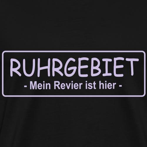Ruhrgebiet mein Revier ist hier - Männer Premium T-Shirt