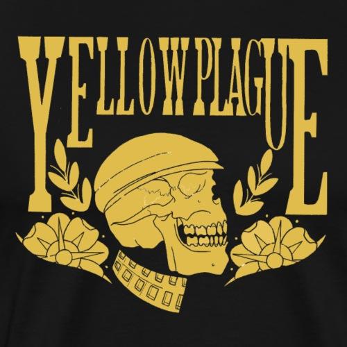 Yellow Plague Gold - Miesten premium t-paita