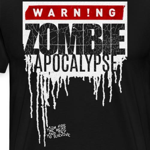 ZOMBIE APOKALYPSE - Männer Premium T-Shirt