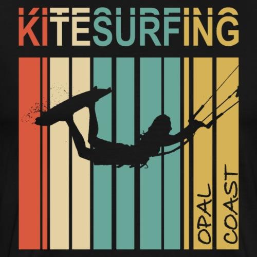 Kitesurfing Opal Coast II - T-shirt Premium Homme