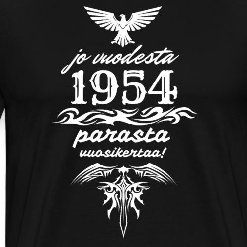 Parasta vuosikertaa, 1954 - Miesten premium t-paita