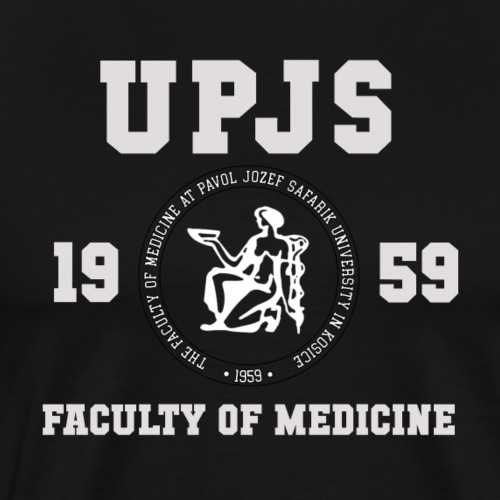 UPJS Faculty of Medicine - Men's Premium T-Shirt