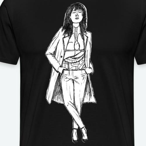 schön bis ins innere - Männer Premium T-Shirt