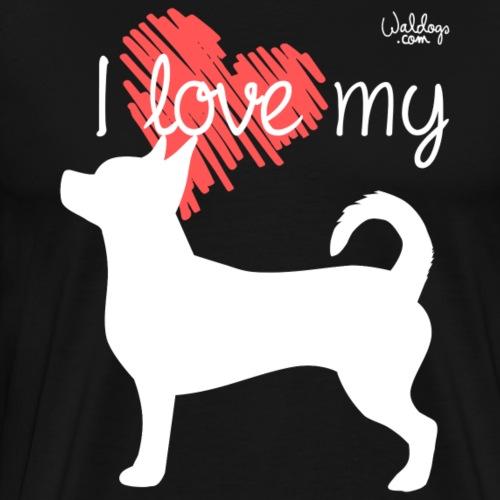 lovechihu2 - Men's Premium T-Shirt