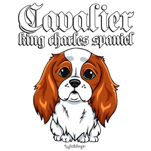 Cavalier King Charles Spaniel - Miesten premium t-paita
