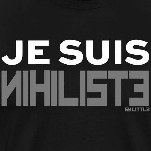 Je suis nihiliste by Lpb - T-shirt Premium Homme