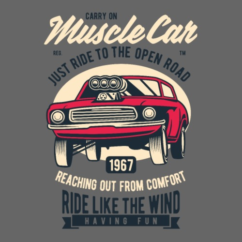 RETRO CAR 20 4 - Männer Premium T-Shirt
