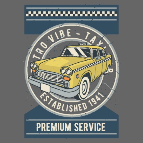 RETRO CAR 20 10 - Männer Premium T-Shirt