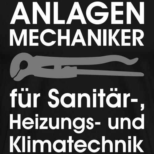 Anlagenmechaniker für Sanitär Heizung Klima - Männer Premium T-Shirt
