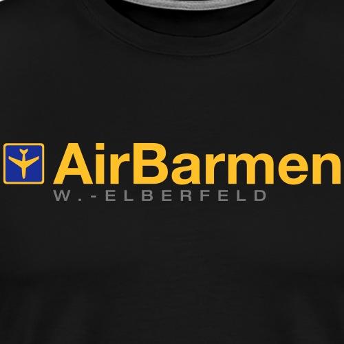 AirBarmen mit der Fernreisegruppe - Männer Premium T-Shirt