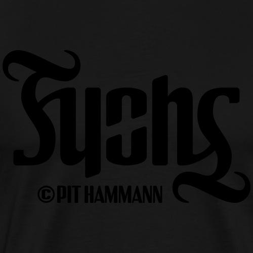 Ambigramm Fuchs 01 Pit Hammann - Männer Premium T-Shirt