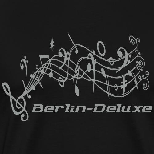 Berlin Deluxe Noten Motiv - Männer Premium T-Shirt