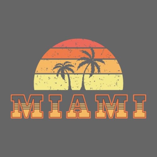 Miami - Camiseta premium hombre